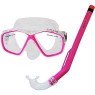Calter Potápěčský set Kids S06+M278 PVC, růžový - Sportovní set