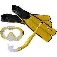 Calter Kids S06+M168+F41 PVC, žlutý - Potápěčská sada