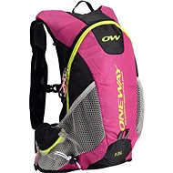 One Way Run Hydro Back 12L Pink-Black - Sportovní batoh