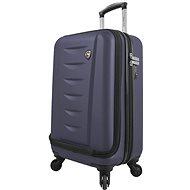 Mia Toro M1014/3-S - modrá - Cestovní kufr s TSA zámkem