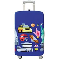 LOQI Hey - New York - Obal na kufr