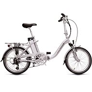 Agogs LowStep Silver 16Ah - City E-Bike