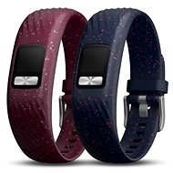 Garmin vívofit 4 Bands Merlot and Navy Speckle (S/M) - Řemínek