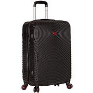 Sirocco T-1157/3-M ABS černá - Cestovní kufr s TSA zámkem