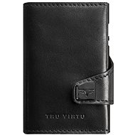Tru Virtu Click and Slide - leather Nappa Black - Peněženka