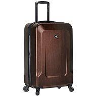 Mia Toro M1535/3-S - hnědá - Cestovní kufr s TSA zámkem