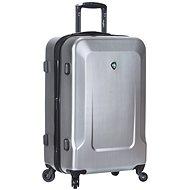 Mia Toro M1535/3-L - stříbrná - Cestovní kufr s TSA zámkem