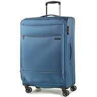 Rock TR-0161/3-M - Blue - Suitcase with TSA-Approved Lock
