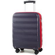 Rock TR-0164/3-S PP - modrá/červená - Cestovní kufr s TSA zámkem