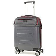 Rock TR-0166/3-S ABS/PES - charcoal - Cestovní kufr s TSA zámkem
