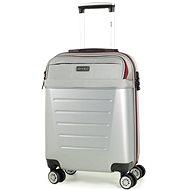Rock TR-0166/3-S ABS/PES - stříbrná - Cestovní kufr s TSA zámkem