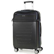 Rock TR-0166/3-M ABS/PES - černá - Cestovní kufr s TSA zámkem