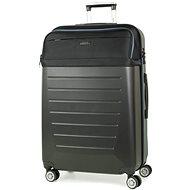 Rock TR-0166/3-L ABS/PES - černá - Cestovní kufr s TSA zámkem