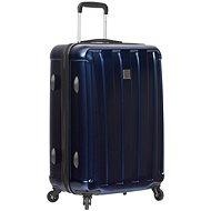 Sirocco T-1162/3-L ABS/PC - modrá - Cestovní kufr s TSA zámkem