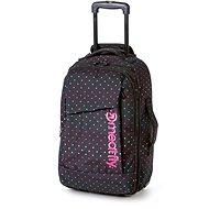 Meatfly Revel Trolley Bag, B - Cestovní kufr