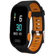 CUBE1 Smart band LY116 Black/orange - Fitness náramek