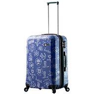 Mia Toro M1089/3-M - modrá - Cestovní kufr s TSA zámkem