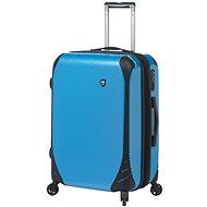 Mia Toro M1021/3-M - modrá - Cestovní kufr s TSA zámkem
