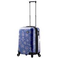 Mia Toro M1089/3-S - modrá - Cestovní kufr s TSA zámkem