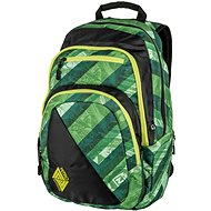 Nitro Stash Wicked Green - Školní batoh