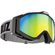 Bliz Edge - Black - Brown w Gold Multi - Lyžařské brýle