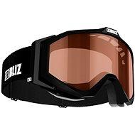 Bliz Edge JR - Black - Orange - Dětské lyžařské brýle