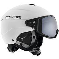 Cébé Element Visor - Matt White Black vel. 59 - 61 cm - Lyžařská helma