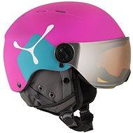 Cébé Fireball Junior Matt Pink Blue vel. 49 - 54 cm - Lyžařská helma