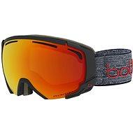 Bollé Supreme Otg-Photochromatic Matte Dark Grey & Red-Phantom Fire Red  - Lyžařské brýle