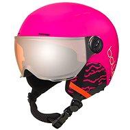 Bolle Quiz Visor - Matte Hot Pink - Ski Helmet