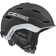 Cébé Venture Matt-Black White - Lyžařská helma
