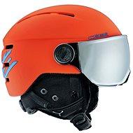 Cébé Fireball Junior-Matt Orange Blue vel. 49-51 cm - Lyžařská helma
