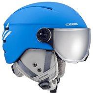 Cébé Fireball Junior-Matt Blue White - Lyžařská helma 95f63e736ae