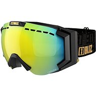 BLIZ CARVER SR Matt Black Orange w Gold Multi Cat.2 - Lyžařské brýle