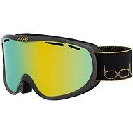 BOLLÉ SIERRA Shiny Black & Gold Sunshine Cat.3 - Lyžařské brýle