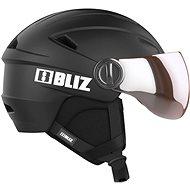 BLIZ STRIKE VISOR Black 54-58 - Lyžařská helma