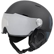 BOLLÉ MIGHT VISOR Matte Black W Grey Silver Lens Cat.3 59-62 - Lyžařská helma