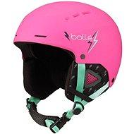 BOLLÉ QUIZ Matte Pink White 49-52 - Lyžařská helma