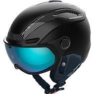 Bollé V-Line Carbon Black Matte Photochromic Phantom Blue Lens Cat 1-3, vel.M (55-59 cm) - Lyžařská helma