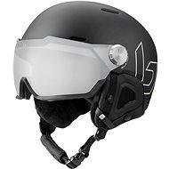 Bollé Might Visor Premium Mips Black Matte Photochromic Silver Mirror Lens Cat 1-2, vel. M (55-59 cm - Lyžařská helma