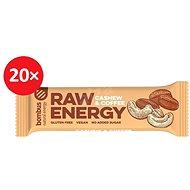 BOMBUS Raw energy-Cashew+coffee 50g 20ks - Raw tyčinka