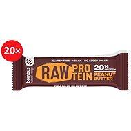 BOMBUS Raw protein-Peanut butter50g 20ks - Raw tyčinka