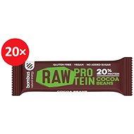 Bombus Raw protein-Cocoa beans 50g 20ks - Raw tyčinka