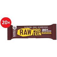 BOMBUS Raw protein-Banana 50g 20ks - Raw tyčinka