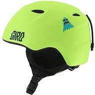 GIRO Slingshot Mat Lime Shark Party - Dětská lyžařská helma
