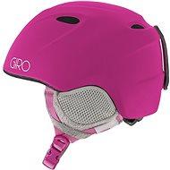 GIRO Slingshot Mat Magenta - Dětská lyžařská helma