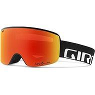 GIRO Axis Black Wordmark Vivid Ember/Vivid Infrared (2 skla)  - Lyžařské brýle