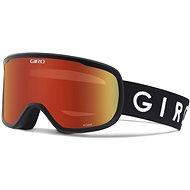 GIRO Roam Black Amber Scarlet/Yellow vel. M - Lyžařské brýle