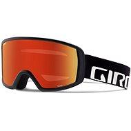 GIRO Cruz Black Wordmark Amber Scarlet  - Lyžařské brýle