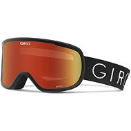 GIRO Moxie Black Core Light Amber Gold/Yellow - Lyžařské brýle